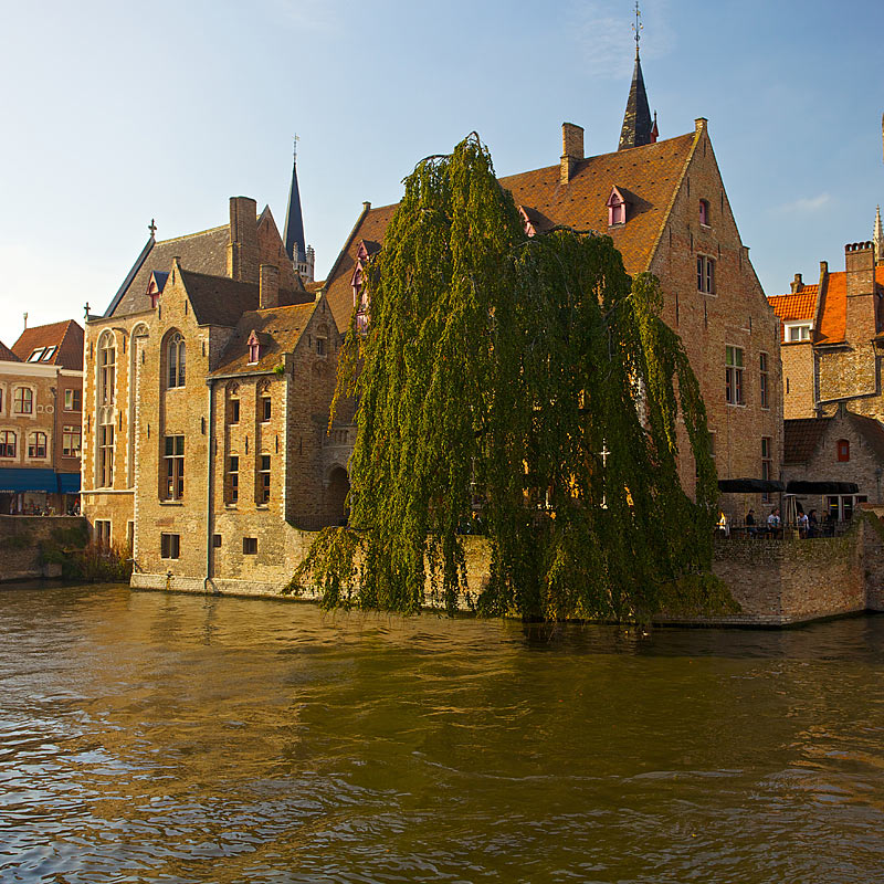 Architectural photography of Bruges, Belgium